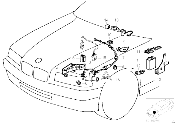 2000 bmw z3 cruise control diagram