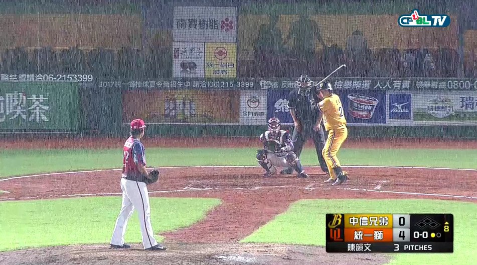 CPBL released the schedule for make up games - CPBL STATS