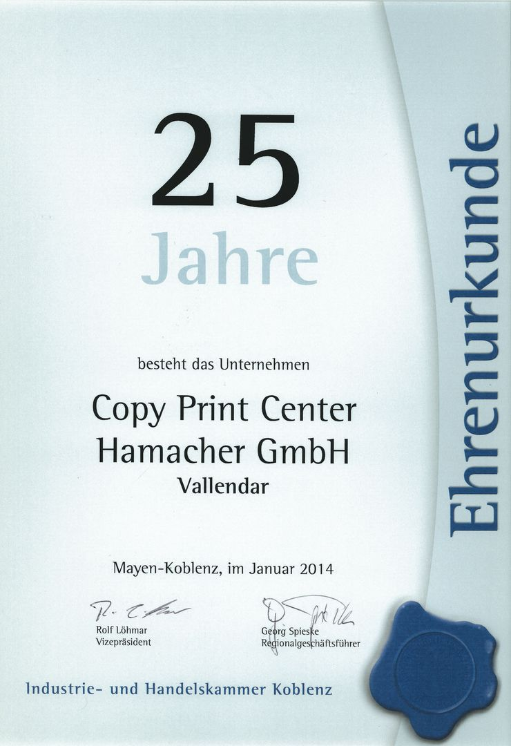 Copy Shop Koblenz Copy Print Center Hamacher Startseite