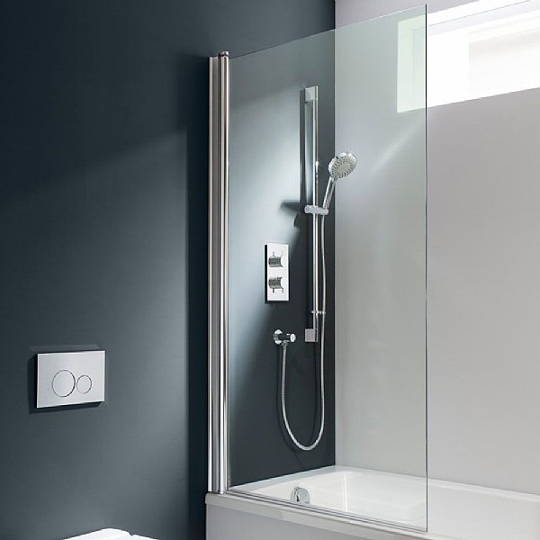 Bidets Duravit Simpsons Design Single Bath Screen | Shower & Bath Screens