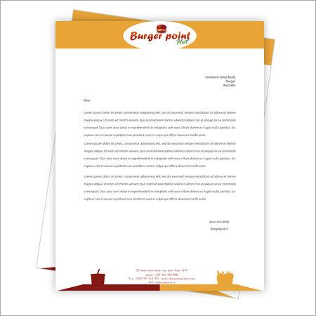 Letterhead Designing - Letterhead Designing Service Provider