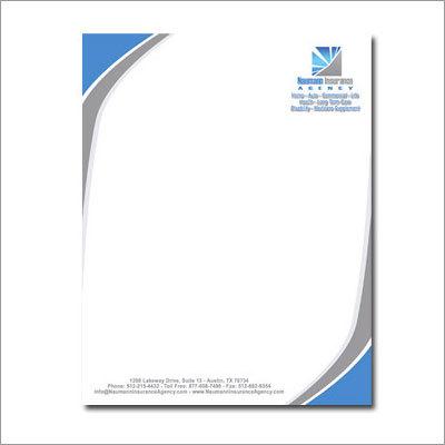 Letterhead Designing - Letterhead Designing Manufacturer