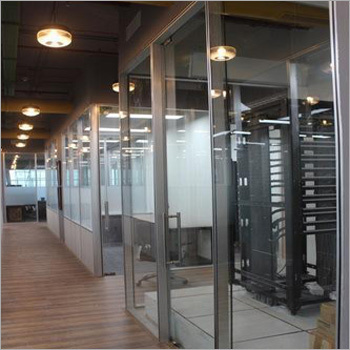 Framed Office Glass Office Partitions Manufacturer  Supplier in