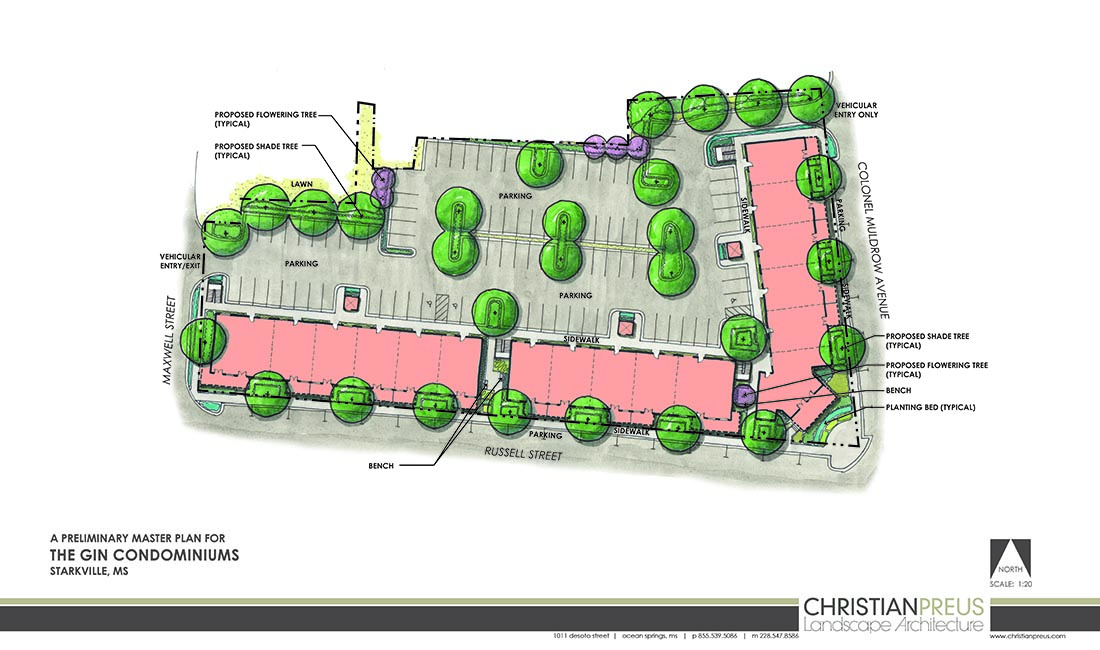 Christian Preus Landscape Architecture Infill Development Mixed