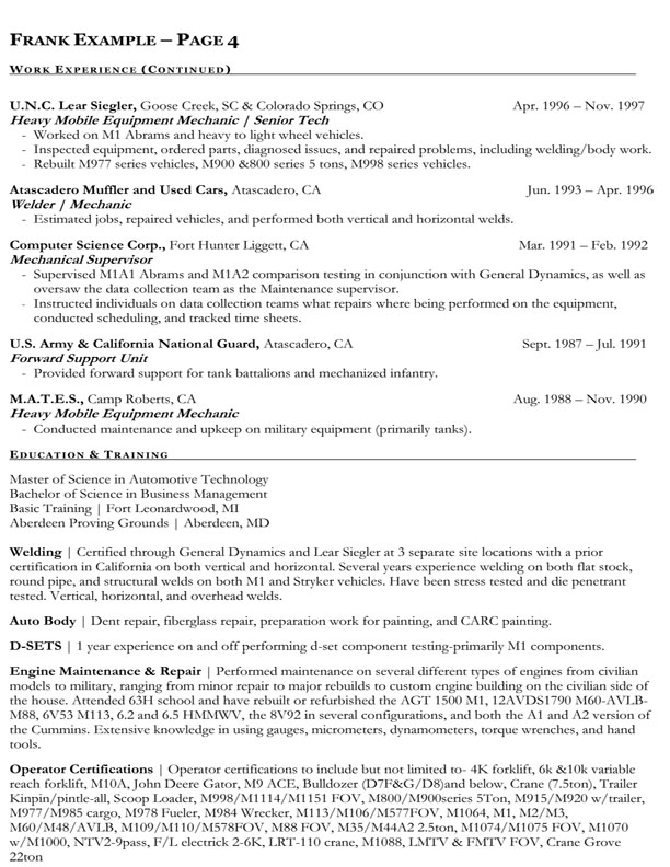 federal jobs resume tips restaurant resume templates food server - Sample Of Government Resume