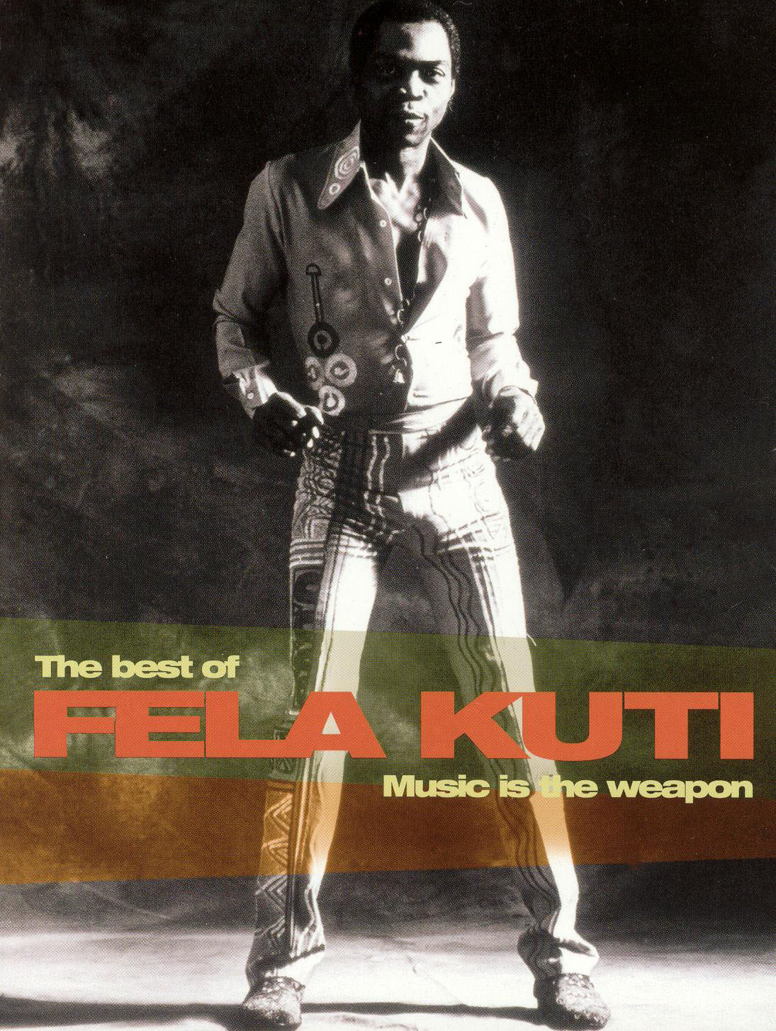 Fela Kuti Fela Kuti Music Is The Weapon 1982 Jean Jacques Flori