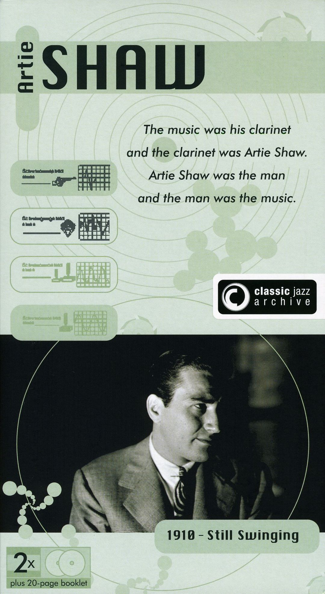 Artie Shaw Yesterdays Classic Jazz Archive Artie Shaw Songs Reviews Credits Allmusic