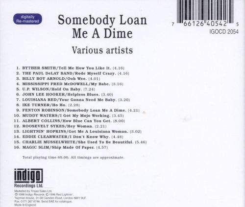 Somebody Loan Me a Dime - Various Artists   Songs, Reviews, Credits   AllMusic