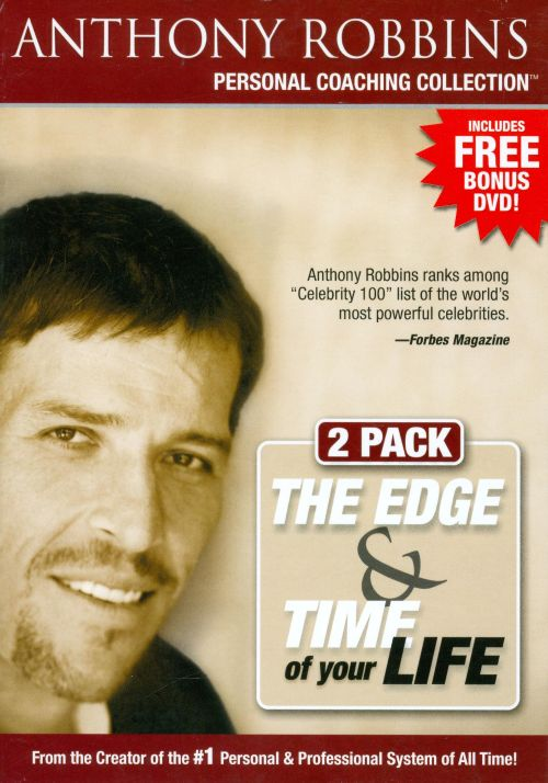 Personal Coaching Collection The Edge  Time Of Your Life DVD/CD - tony robbins disc