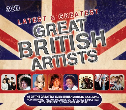 Latest & Greatest: Great British Artists - Various Artists   Songs, Reviews, Credits   AllMusic