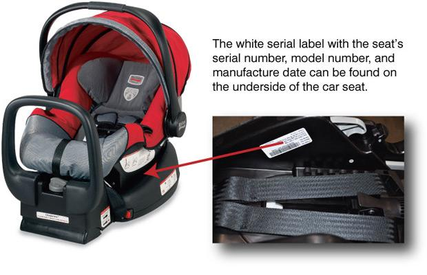 Britax Car Seat Date Of Manufacture Infant Car Seats Recalled By Britax Due To Laceration And