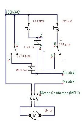 11 Pin Latching Relay Wiring Diagram Schematic Cr4 Thread Proper Way Of Wiring 8pin 120ac Volts Coil Relay