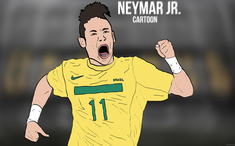 Wallpaper Nike Iphone 5 Neymar Jr Cartoon Wallpaper By Bluezest1997 Neymar