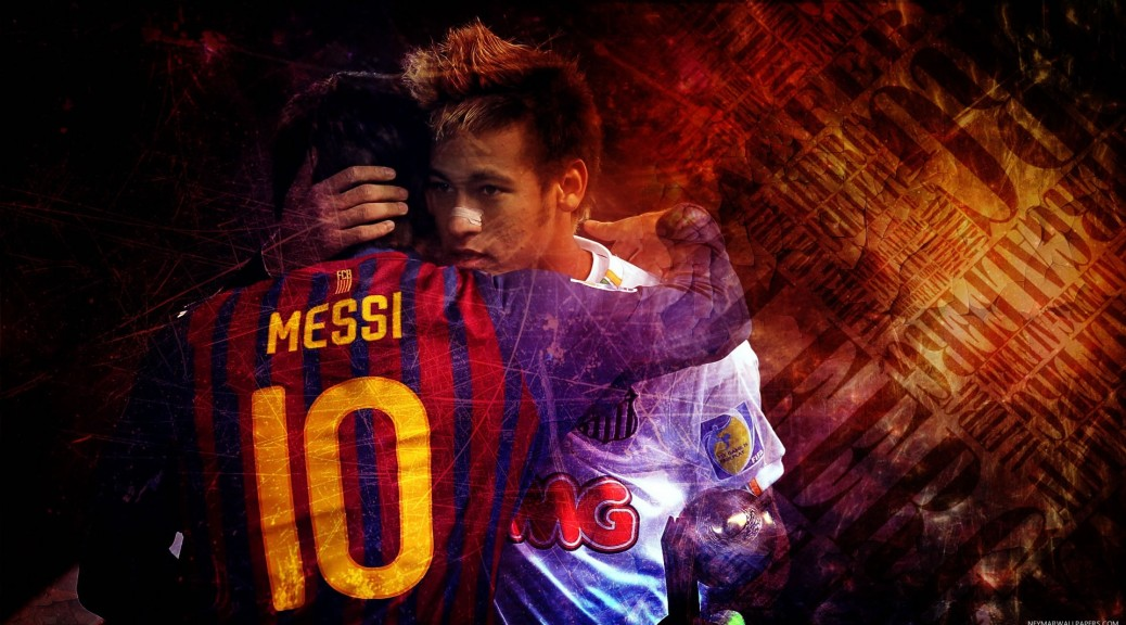 Fc Barcelona Wallpaper Iphone X Neymar Hugging Messi Wallpaper Neymar Wallpapers