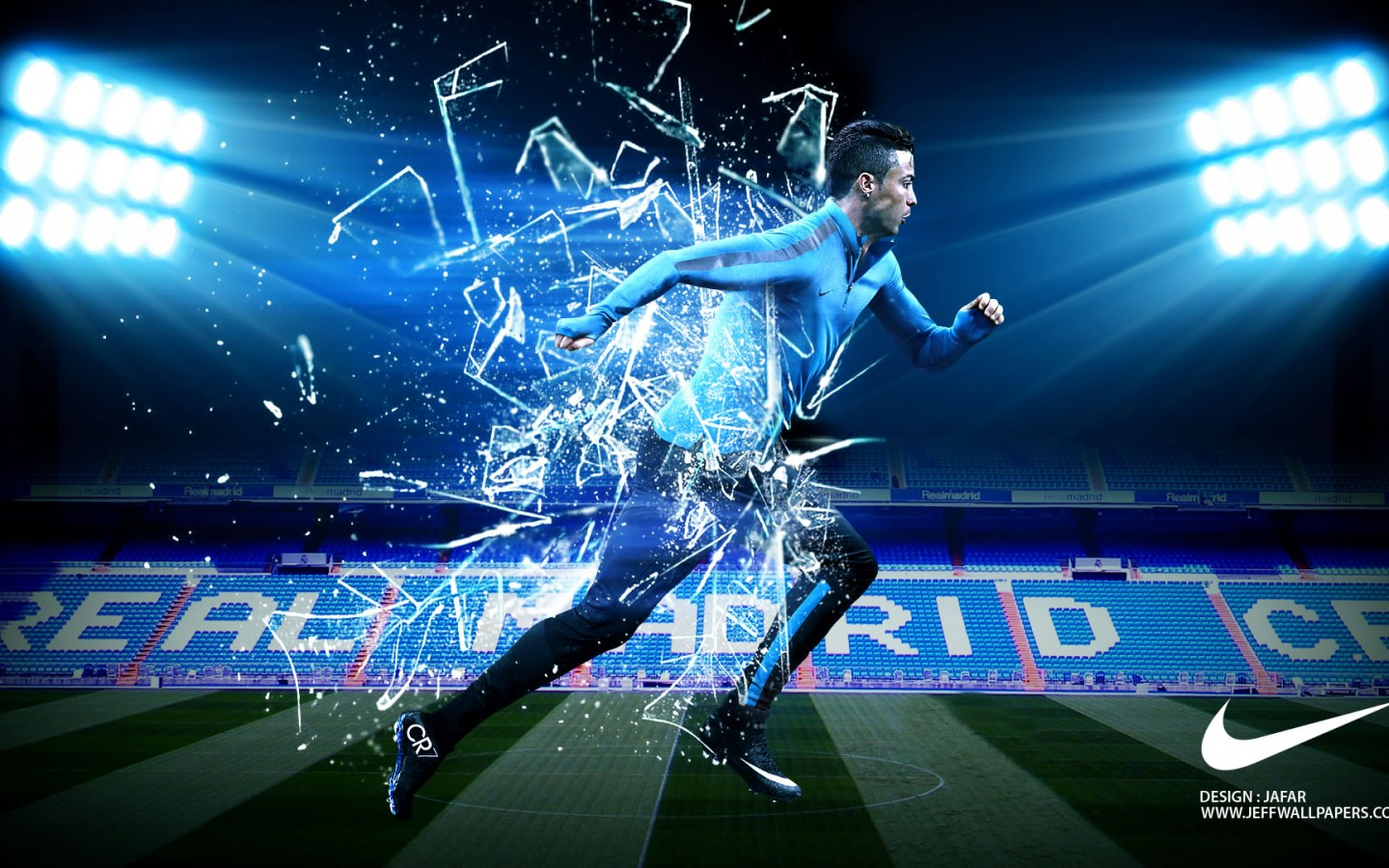 Real Madrid Hd Wallpapers 3d Cristiano Ronaldo Nike Wallpaper By Jafarjeef Cristiano