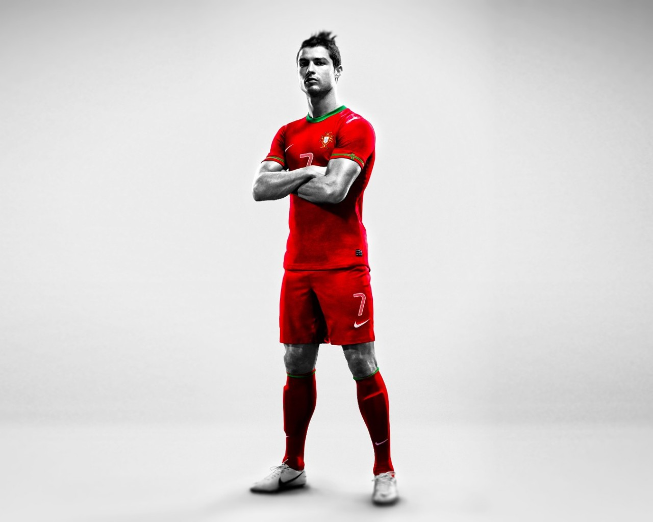 Cr7 Wallpaper Iphone X Cristiano Ronaldo Red Portugal Jersey Wallpaper