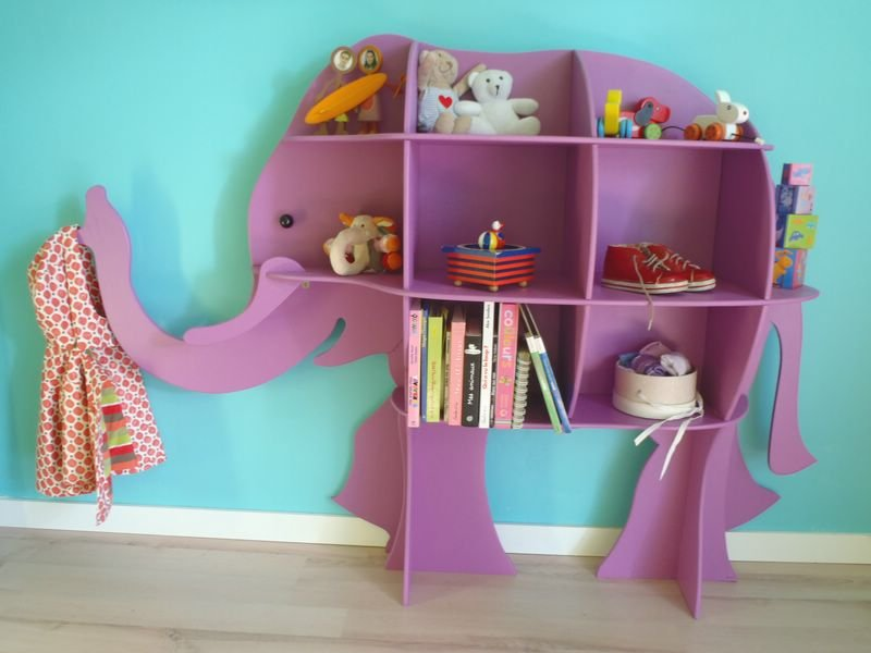 Meuble Tele Etagere -mobilier Enfant Archive At Crab Creation