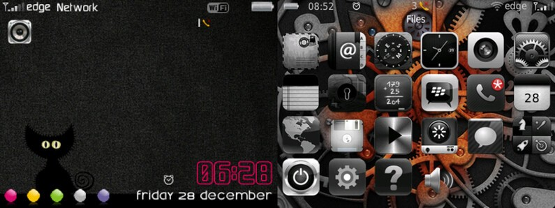 Cute Wallpapers For Blackberry Curve 8520 Blackberry Theme Roundup August 6 2013 Crackberry Com