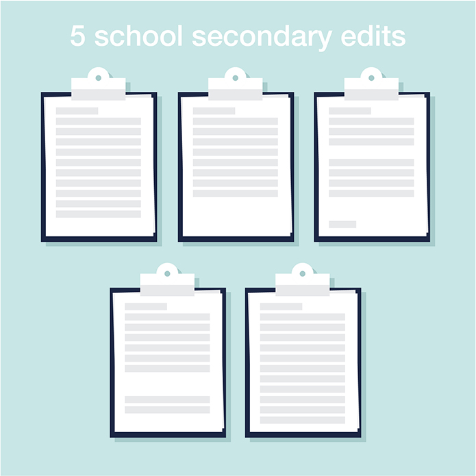 5 Medical Schools Secondary Essay Edits - Cracking Med School - med school essay