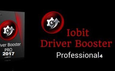 IObit Driver Booster 4 PRO Serial Key + Keygen 2017 Full Download