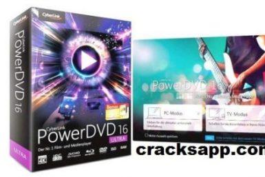 Cyberlink PowerDVD Ultra 16 Crack Keygen + Activation key Full Free