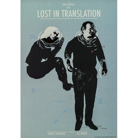 Lost in Translation - Cracow Poster Gallery Galeria Plakatu - lost person poster