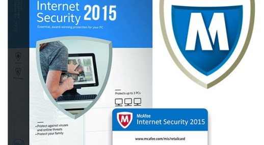 McAfee Internet Security 2015 Crack & Serial key Full Version