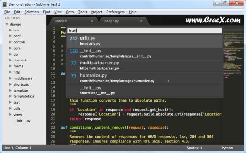 Sublime Text 3 Crack + License Key, Keygen Free Download