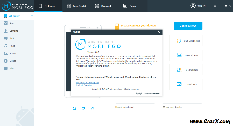Wondershare MobileGo Crack 8.0 Serial Key Free Download