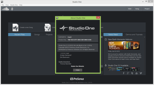 Studio One 3 Pro Crack Patch, Keygen Full Version Free Download ...