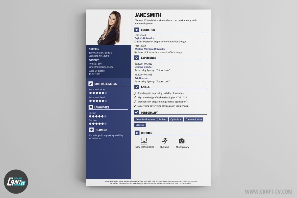 world online modele cv
