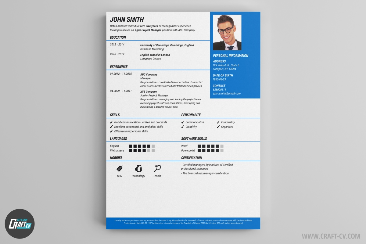 Nice Free Windows 7 Resume Templates Gallery - Entry Level Resume ...