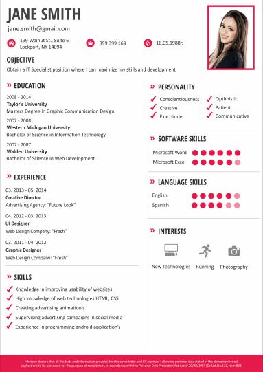 resume making online