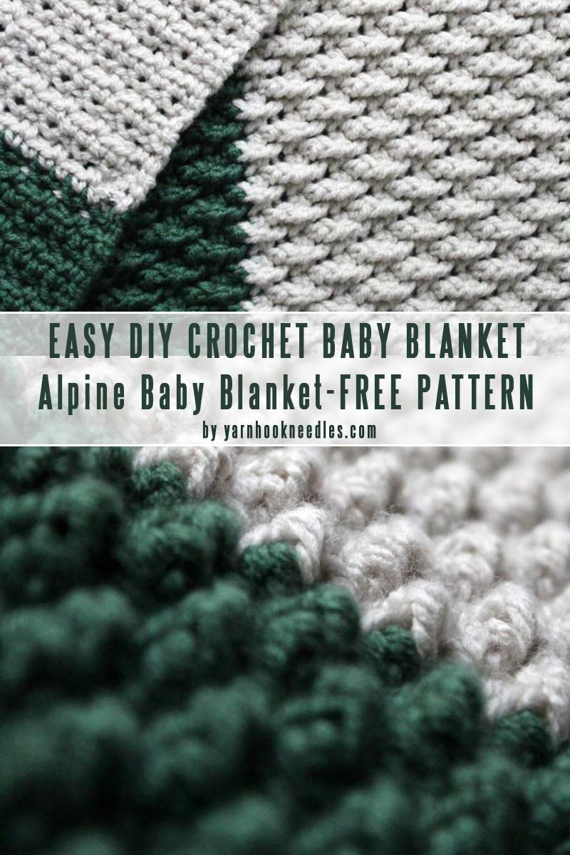 Crocheted Baby Blankets Easy Diy Baby Blankets You Can Crochet In A Weekend Craft Mart
