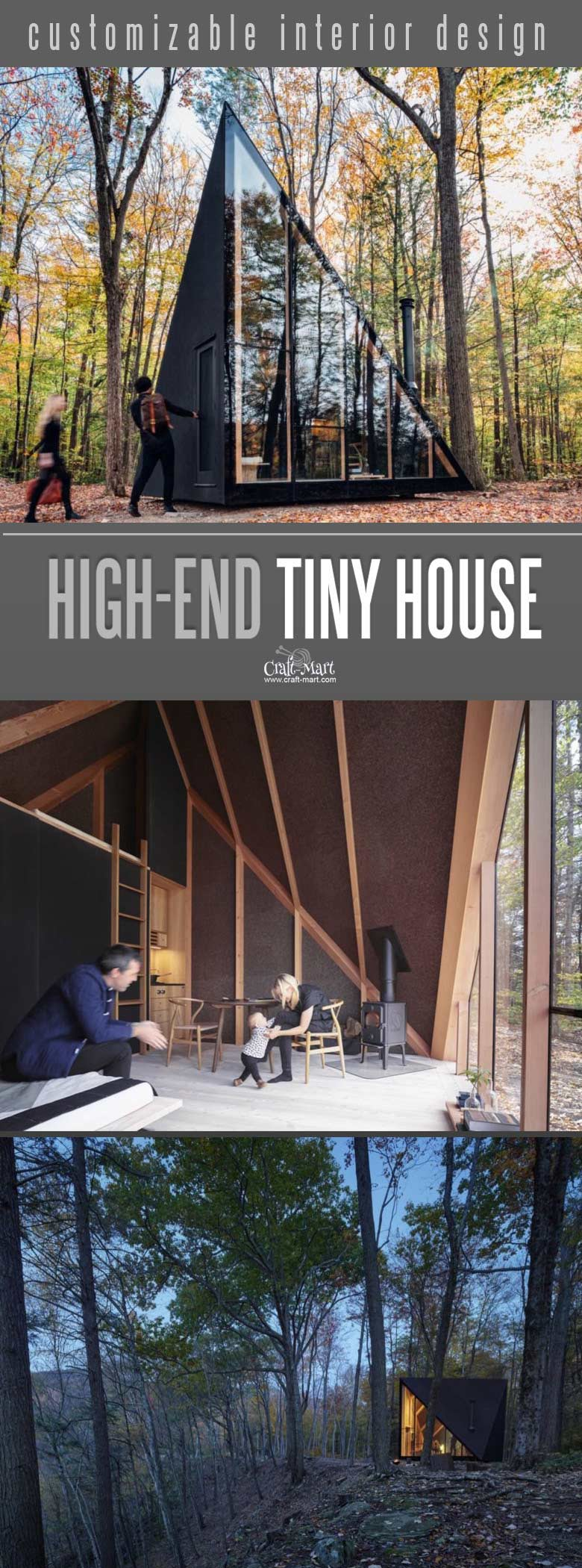High Tech Modern Tiny Houses Most Of Us Can Afford Craft Mart
