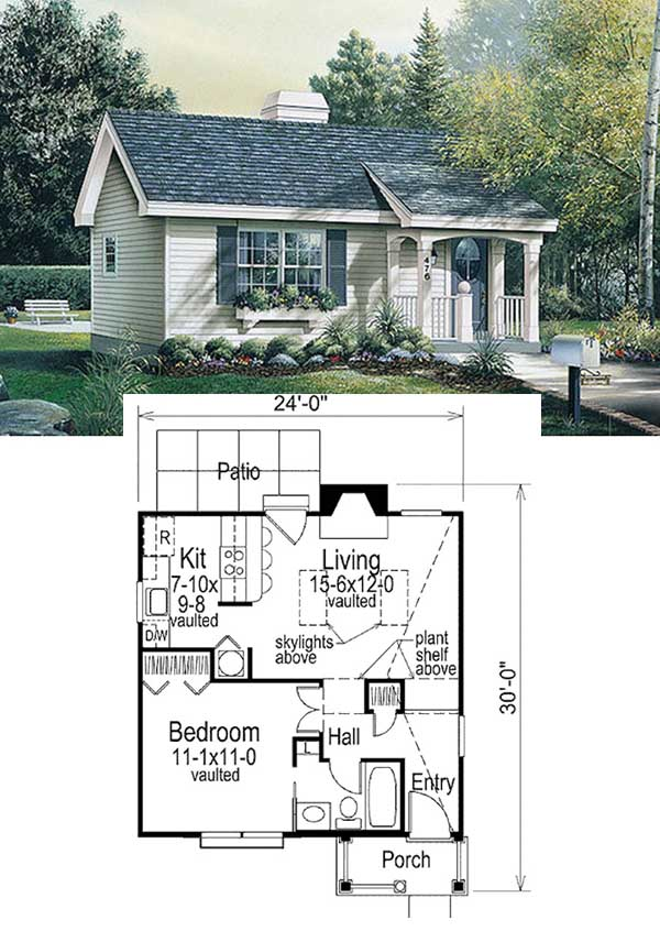 Tiny House With Garage Plans 27 Adorable Free Tiny House Floor Plans Craft Mart
