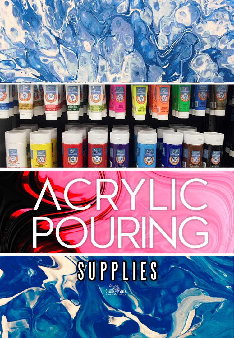 Acrylic Pour Painting Supplies For Stunning Diy Fluid Arts Projects Craft Mart