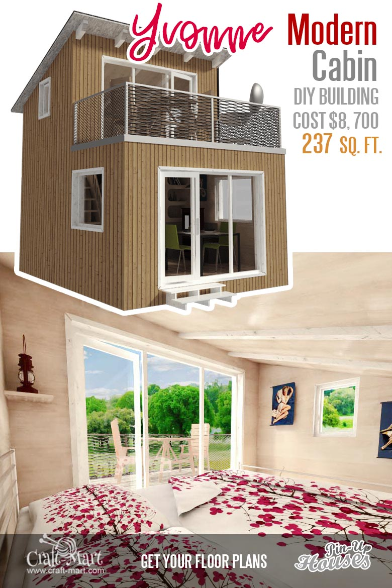 Cute Small Cabin Plans A Frame Tiny House Plans Cottages Containers Craft Mart