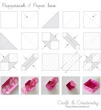 DIY origami paper box | DIY | Pinterest