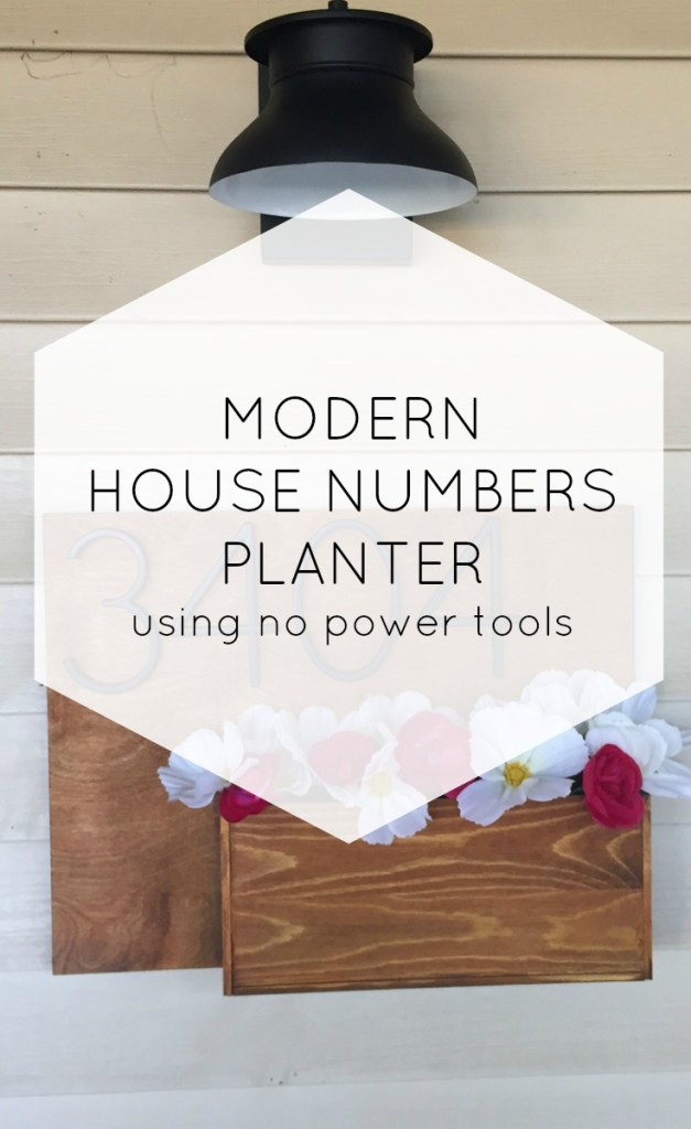 house planter project
