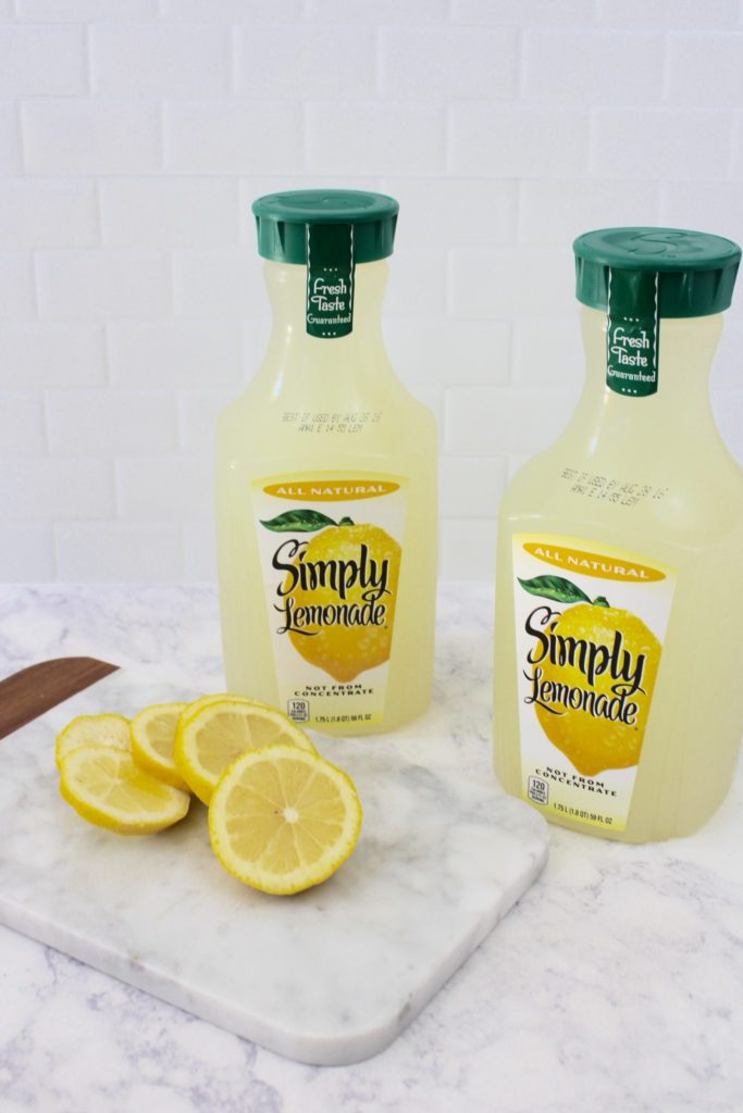 use simply lemonade for easy mocktail recipe