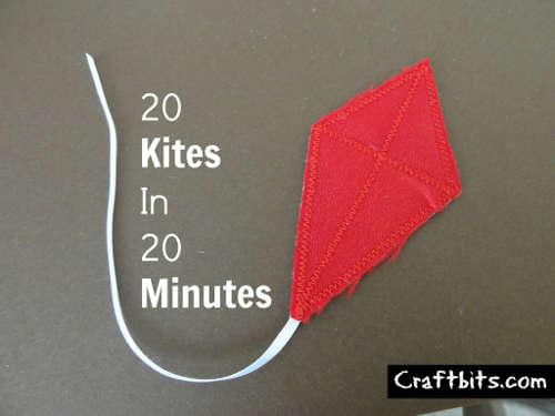 20 Kites in 20 mins