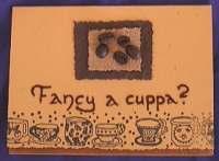 Cuppa Coffee Card