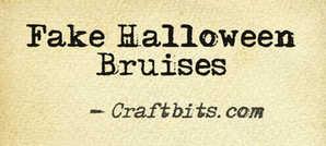 Fake Halloween Bruises