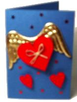 Flying Hearts Card