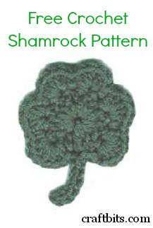 Crochet Shamrock Magnet