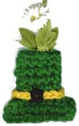 St Patrick's Day Hat Magnet