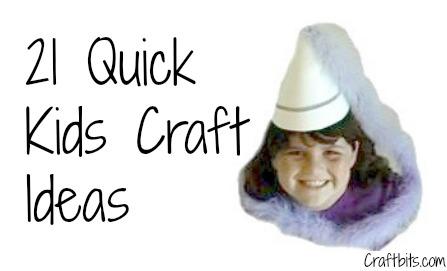 Craft Ideas Kids
