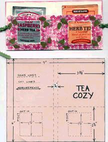 Stamped Tea Cozy