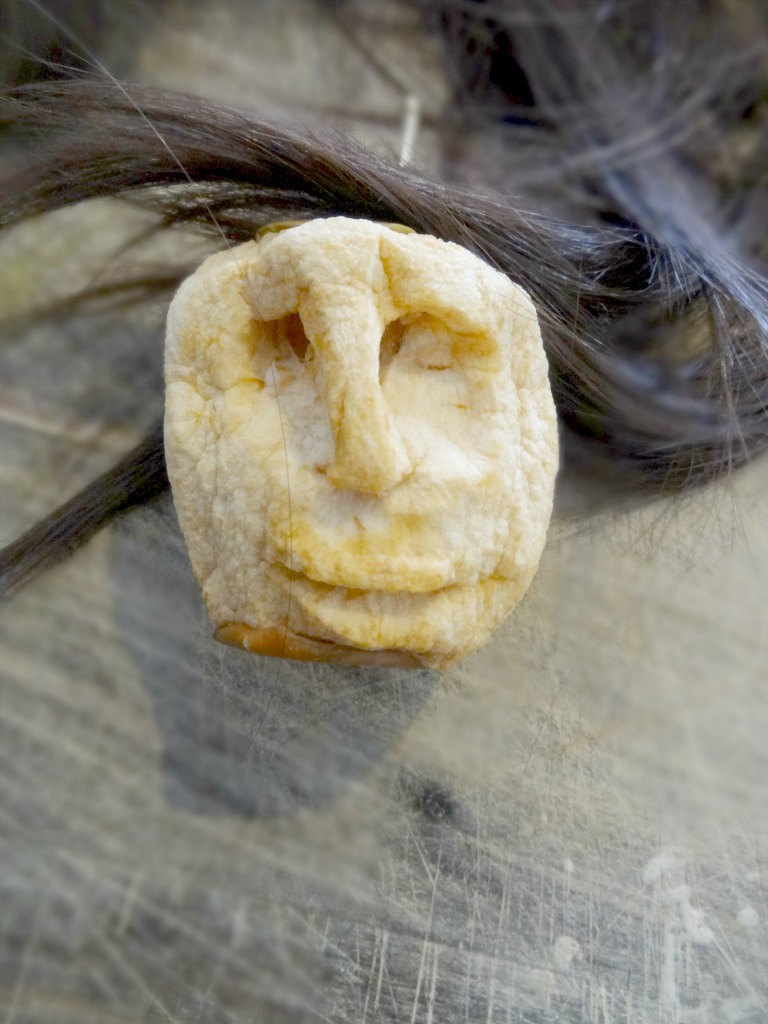 Halloween Shrunken Apple heads